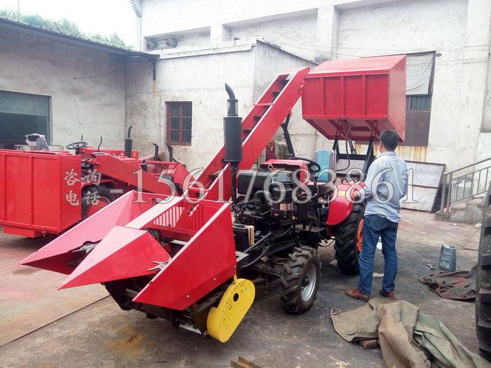 4Yb-2型玉米收割机