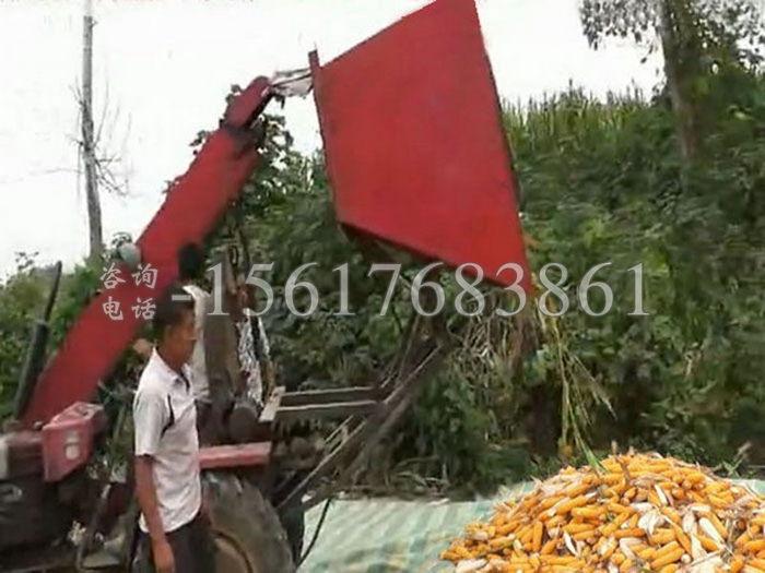 两行收玉米机器
